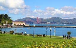 Landscpae του Σαν Φρανσίσκο Στοκ εικόνες με δικαίωμα ελεύθερης χρήσης