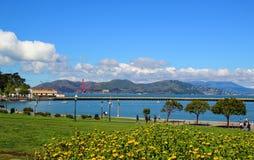Landscpae του Σαν Φρανσίσκο Στοκ Εικόνες