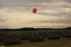 Landscpae лагеря Стоковое фото RF