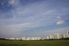 landscpae singapore Arkivfoto