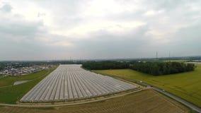 Landscpane aéreo de la agricultura en Alemania metrajes