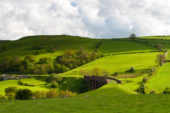 Landscpape. Landscape in Great Britain in Europe Stock Image