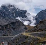 Landscspe Bolivia royaltyfria bilder
