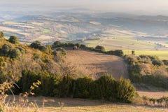 Landseite in Spanien Stockbild
