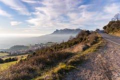 Landseite in Spanien Lizenzfreies Stockbild
