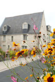 landsfrance hus Royaltyfri Foto