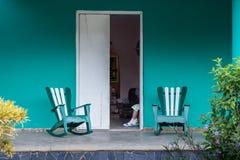 Landshus, Kuba Royaltyfri Bild