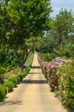 Landshus nära Montpellier Royaltyfri Bild