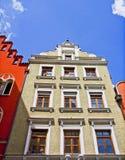 Landshut, Alemania, casa vieja Imágenes de archivo libres de regalías