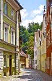 Landshut, Alemania, visión urbana Imagenes de archivo