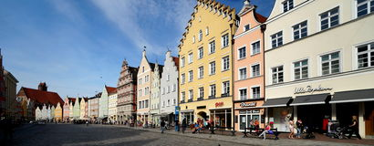 Landshut Royalty Free Stock Photo