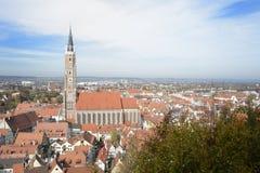 Landshut Cityscape Stock Photo