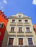 Landshut, Germany, old house Royalty Free Stock Images