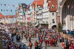 Landshut-Hochzeit Lizenzfreie Stockfotografie
