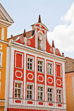Landshut house facade Stock Photo