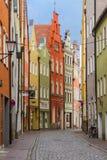Landshut, Ländsgasse Στοκ Εικόνες