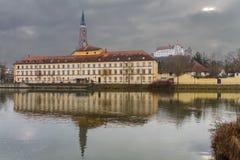 Landshut, teatro da cidade Fotos de Stock Royalty Free