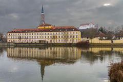 Landshut, teatro de la ciudad Fotos de archivo libres de regalías