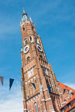 Landshut Wedding. The Church of St. Martin in Landshut is a medieval church in the German city located in the state of Bavaria. St. Martin`s Church, along with Royalty Free Stock Photography