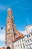 Landshut Wedding. The Church of St. Martin in Landshut is a medieval church in the German city located in the state of Bavaria. St. Martin`s Church, along with Royalty Free Stock Image