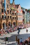 Landshut Wedding Royalty Free Stock Photography