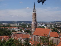 Landshutt Lizenzfreies Stockbild