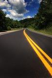 landshuvudväg royaltyfria foton