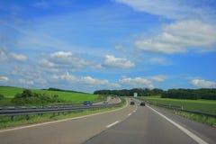 landshuvudväg Royaltyfri Bild