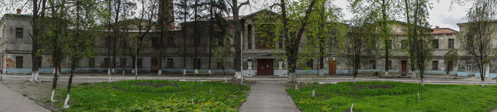 Landsitz-Gouverneur Peter Saburov, Kharkov, Ukraine Stockbilder