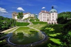 Landsitz hause Becov nad Teplou Lizenzfreie Stockfotos