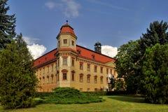 Landsitz hause Holesov Stockfoto