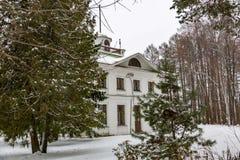 Landsitz Serednikovo, Moskau-Region, Russland Stockfotografie