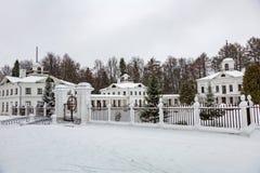 Landsitz Serednikovo, Moskau-Region, Russland Stockbild