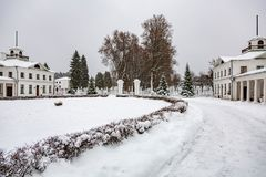 Landsitz Serednikovo, Moskau-Region, Russland Stockfotos