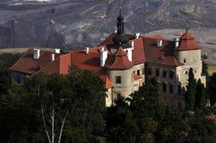 Landsitzhaus Jezeri Stockfoto
