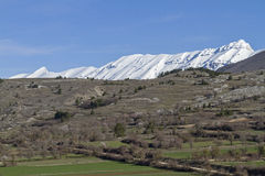 Landskap Abruzzo Royaltyfria Bilder