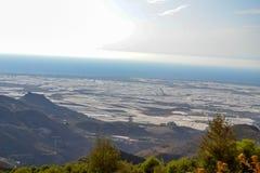 Landskap Almeria Fotografering för Bildbyråer