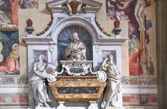 Landskap, arkitekturer och konst av staden av Florence Arkivbild