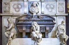 Landskap, arkitekturer och konst av staden av Florence Arkivfoto