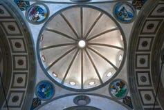 Landskap, arkitekturer och konst av staden av Florence Royaltyfri Fotografi