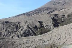 Landskap av ökenberget Arkivbild