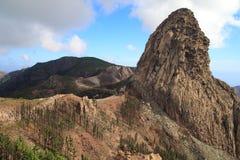 Landskap av ön av La Gomera Royaltyfri Fotografi