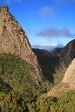 Landskap av ön av La Gomera Royaltyfri Bild