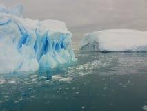 Landskap av Antarktis Royaltyfri Bild