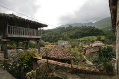 Landskap av Asturias Royaltyfri Bild