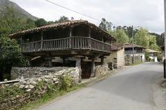 Landskap av Asturias Arkivfoton