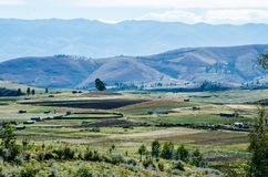 Landskap av Ayacucho Royaltyfria Bilder