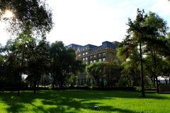 Landskap av Beishan den offentliga trädgården Arkivbilder