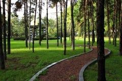 Landskap av Beishan den offentliga trädgården (II) Royaltyfria Foton
