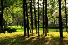 Landskap av Beishan den offentliga trädgården (III) Royaltyfri Fotografi